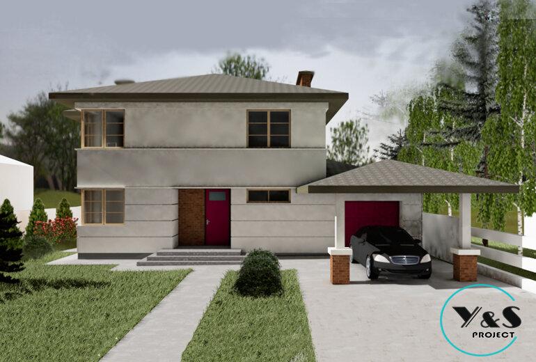 Проект сучасного будинку