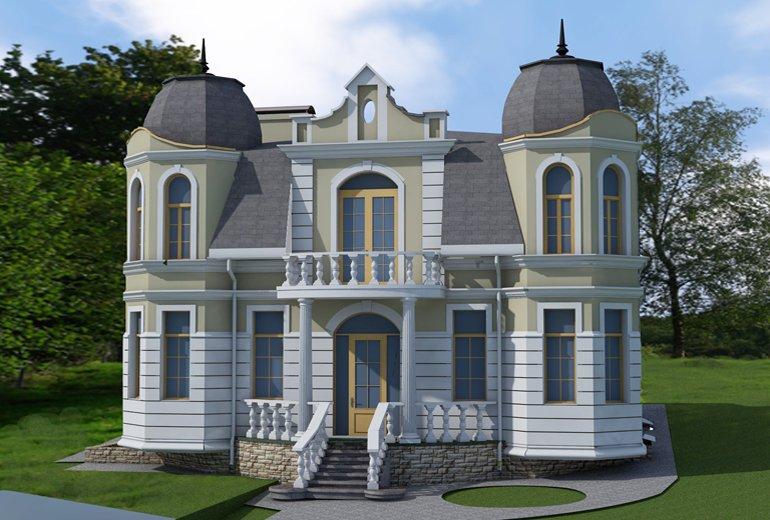 Великий індивідуальний будинок