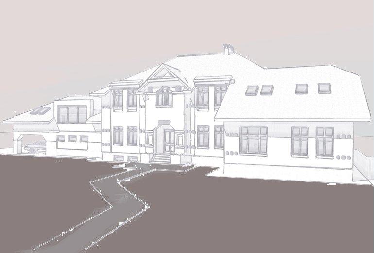 Ескіз житлового будинку