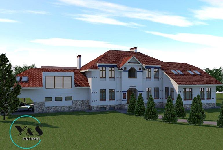 Двоквартирний житловий будинок