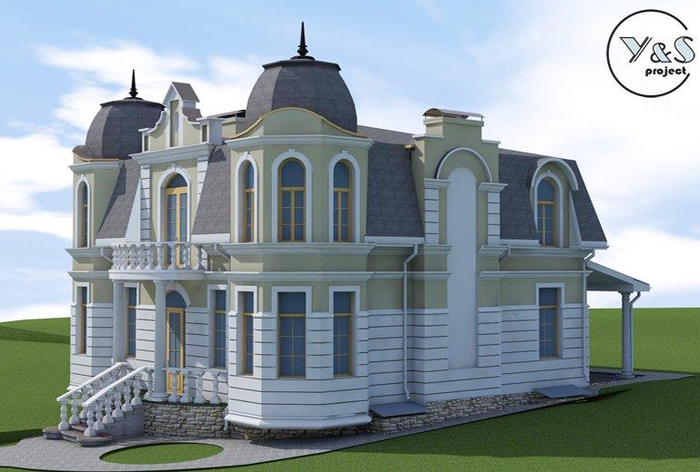 Класичний фасад будинку