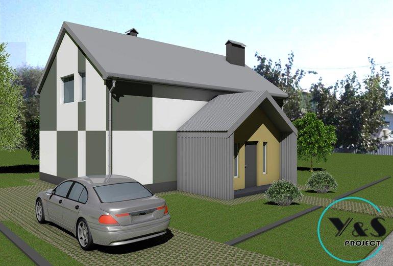 Дизайн фасаду приватного будинку
