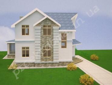 Ескізний архітектурний проект будинку, будівлі, споруди