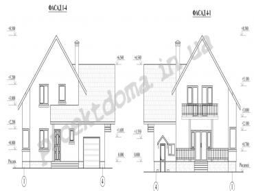 Робочий проект будівництва житлового будинку