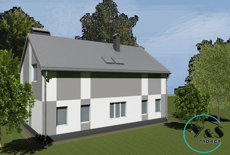 Яскравий фасад житлового будинку